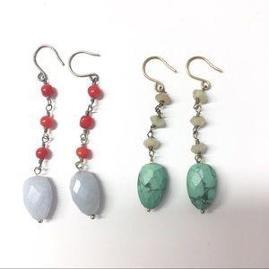Kenneth Cole teardrop earrings